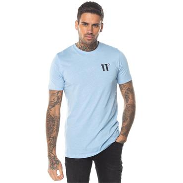 Core Muscle Fit T-Shirt, Coast Blue - 11 Degrees