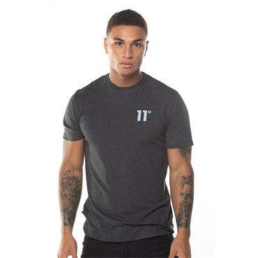 11 Degrees Core T-Shirt - Anthracite Marl