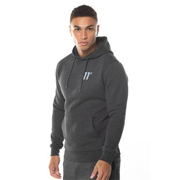 11 Degrees Core Pullover Hoody - Anthracite Marl