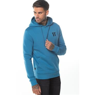 11 Degrees Core Overhead Hoody - Deep Water Blue
