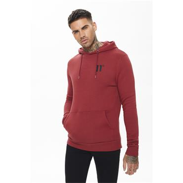 11 Degrees Cre Pull Over Hoodie - Brick Red