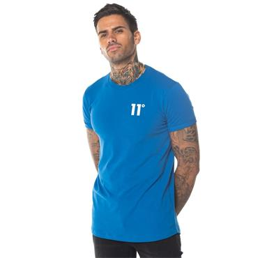 Core Muscle Fit T-Shirt, Steel Blue - 11 Degrees