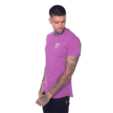 11 Degrees Muscle Fit T - Burgundy