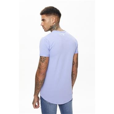 11 Degrees CORE MUSCLE FIT T-SHIRT - Novel Lilac