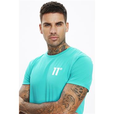 11 Degrees Core Muscle Fit T - Viridian Green
