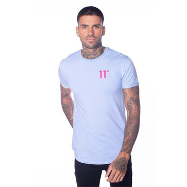 11 Degrees Muscle Fit T - Blue