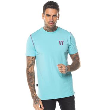Contrast Logo T - TURQUOISE