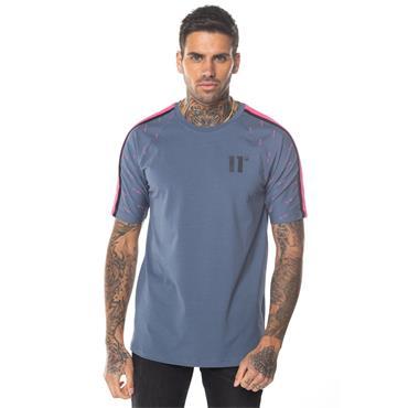Solar Raglan T-Shirt, Twister Grey - 11 Degrees