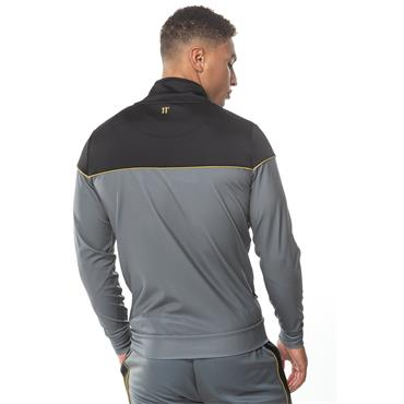 POLY TRACK TOP - ANT, BLACK & GOLD