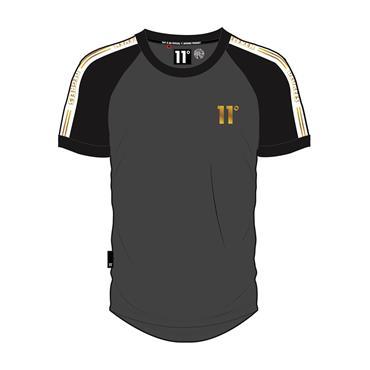 Ringer T - Black Antra Gold