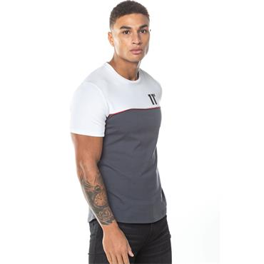 PIPING T-SHIRT - ANTHRACITE