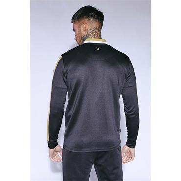 11 Degrees Tricot Track Top - BLACK