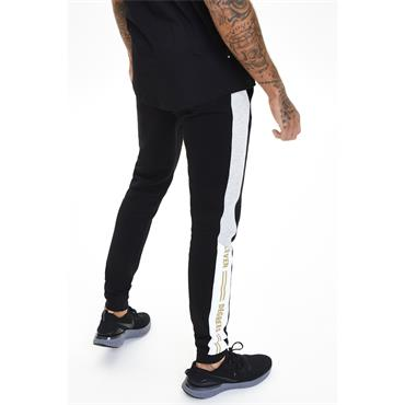 Taped JOGGERS SKINNY FIT - LIGHT GREY & BLACK