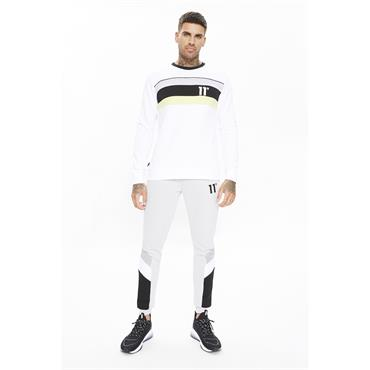 11 Degrees Mercury Mesh Sweat - WHITE