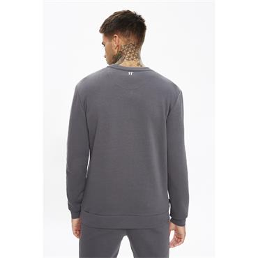 11 Degrees Mercury Mesh Sweat - Slate Grey
