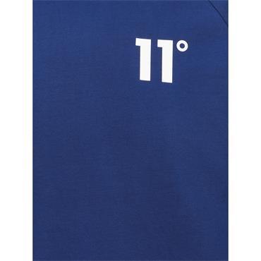11 Degrees Ringer T-Shirt - Blue/Navy