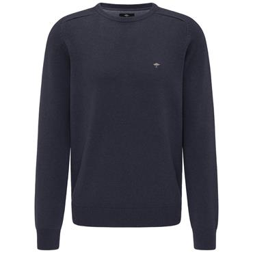 Fynch Hatton Crew Neck - Navy