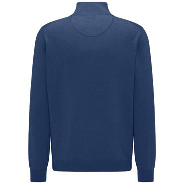 Fynch Hatton 1/4 Zip - Ink