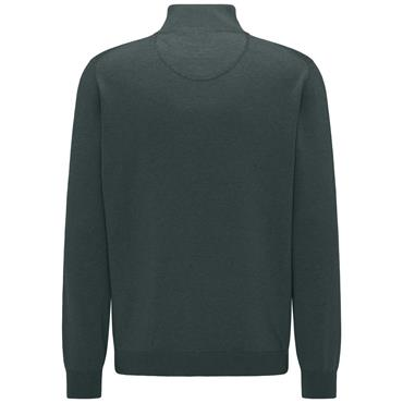 Fynch Hatton 1/4 Zip - Emerald