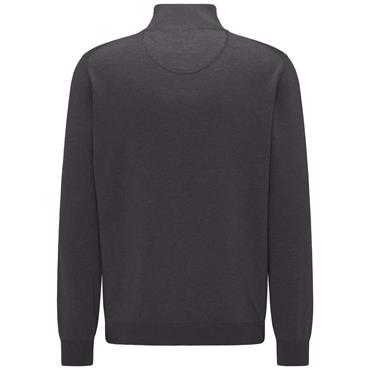 Fynch Hatton 1/4 Zip - Charcoal