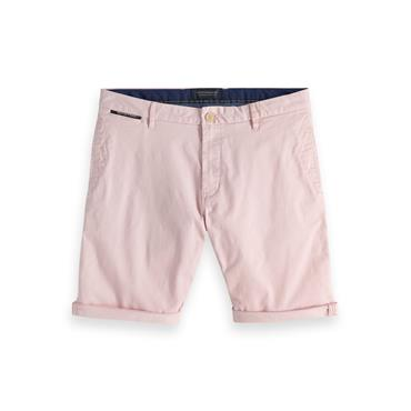 Classic Chino Shorts, Faded Pink - Scotch N Soda