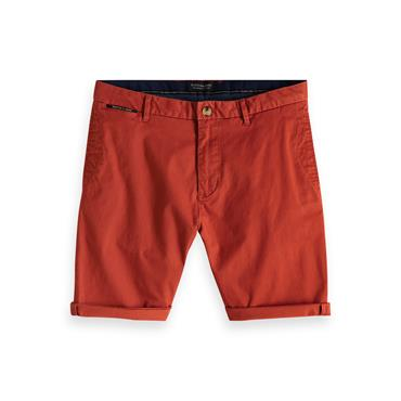 Classic Chino Shorts, Red - Scotch N Soda