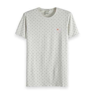 Classic Crewneck T-Shirt, Grey - Scotch N Soda
