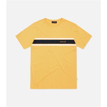 Varsity T-Shirt - Apricot/deep Navy