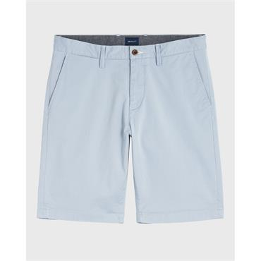 Relaxed Twill Shorts - 420 Hamptons Blue