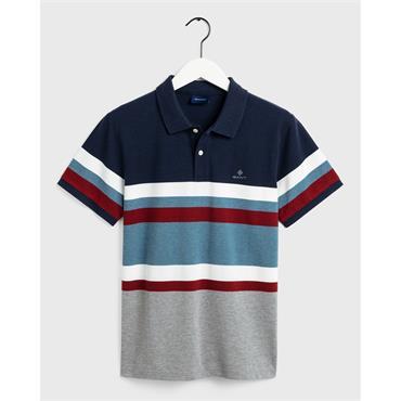 Gant Stripe Pique - 901