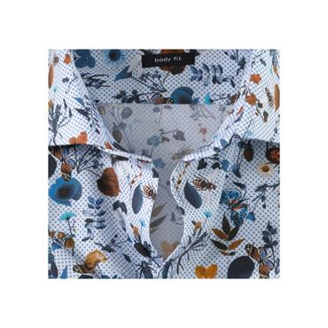 Olump Body Fit Shirt - Print