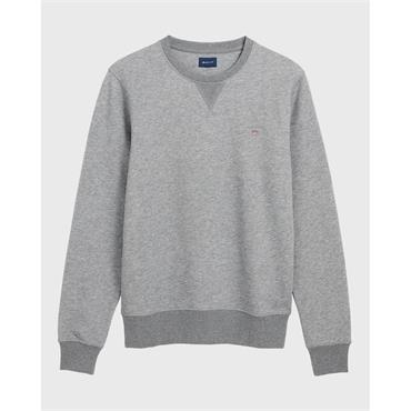 The Original C-Neck Sweat - Dk Grey Mel