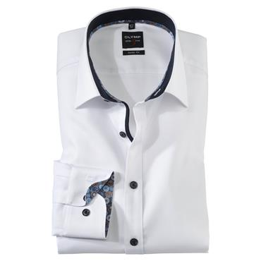 Olymp Body Fit Shirt - White