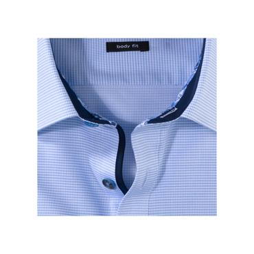 Olymp Body Fit Shirt - Blue