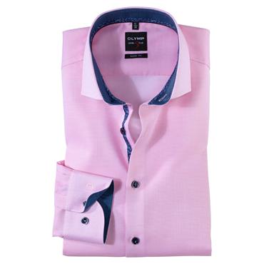 Olymp Body Fit Shirt - Pink