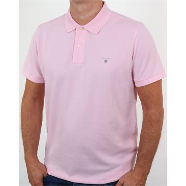Gant Original Pique Rugger Polo - California Pink