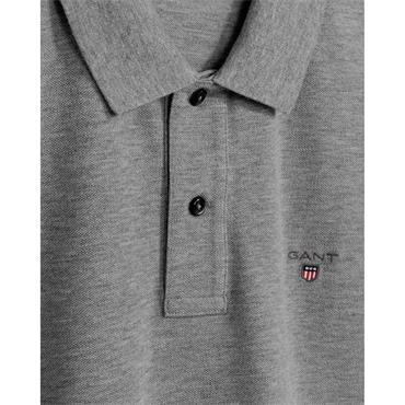 Gant Original Pique Rugger Polo - Grey