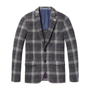 Half knitted Blazer - 0219