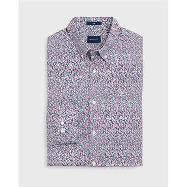 O1.Rose Dot Print Slim Bd - 617