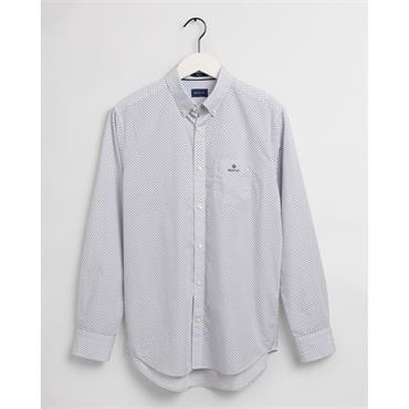 Gant Micro Dot Shirt - White
