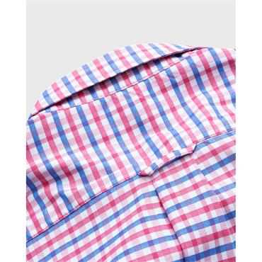 Gant Jaspe Gingham - Rapture Rose