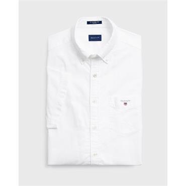 The Oxford Shirt Reg Ss Bd - White