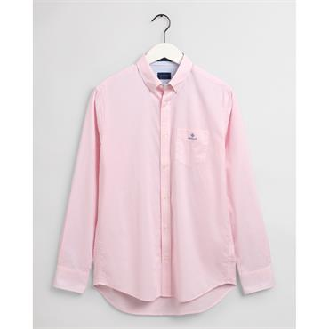 Gant BC Micro Check Contrast Button Shir - California Pink