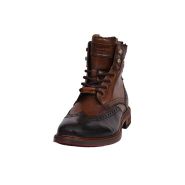 Bugatti Brogue Boots - Brown/Black