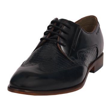 Bugatti Patrizio Derby Shoe - Navy