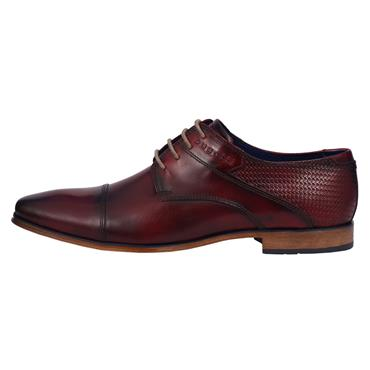 Hand Finish Leather Shoe, Red - Bugatti
