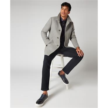 Remus Rowan Overcoat - Grey