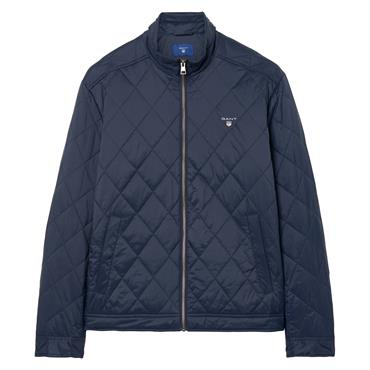 The Quilted Windcheater - Navy