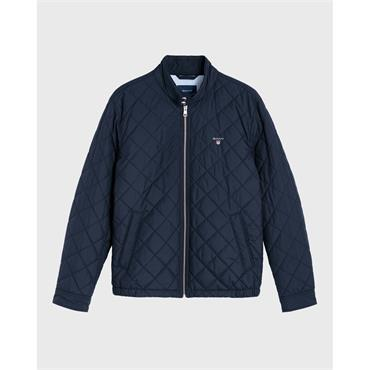 O1. The Quilted Windcheater - 433 Evening Blue