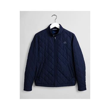 D1.The Quilted Windcheater - 433 Evening Blue